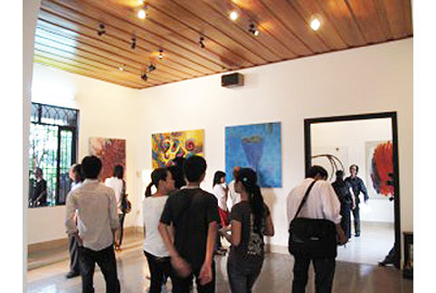 Không gian của Gallery Chiêu Ê