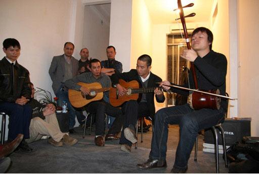 Một buổi biểu diễn nhạc tại Tadioto
