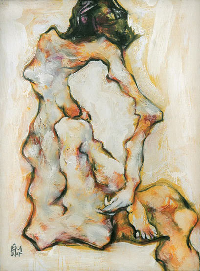 Nude, Oil on canvas, 108x82cm