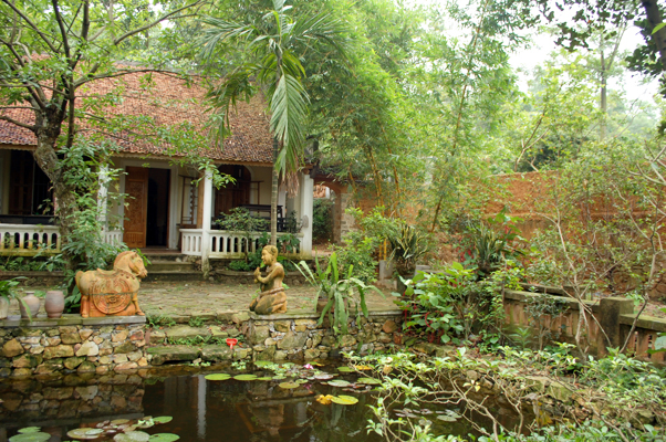 Nhà của họa sĩ Bùi Hoài Mai tại Bắc Ninh