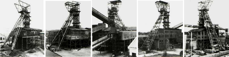 Winding Towers (1976-82), 1983, ERND AND HILLA BECHER