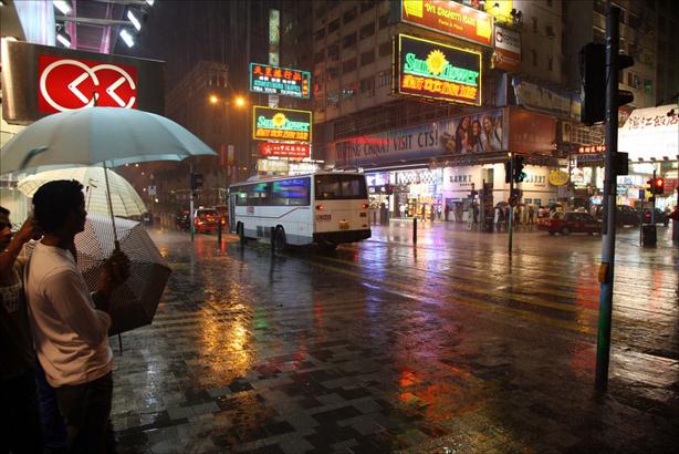 Declan McCullag - Mưa ở Hong Kong