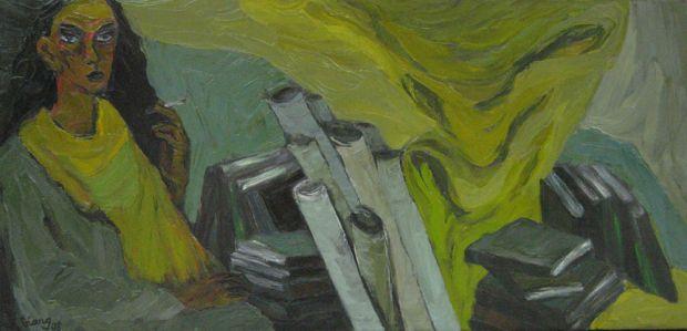 Myfriend, 2008, 70x150cm