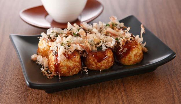 Món ăn Takoyaki Nhật Bản