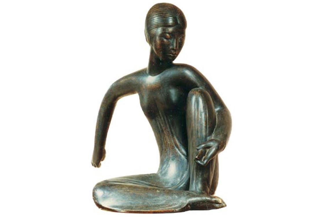 Phạm Văn Hớn (Phạm Mười), vót chông, cao 78 cm, đồng