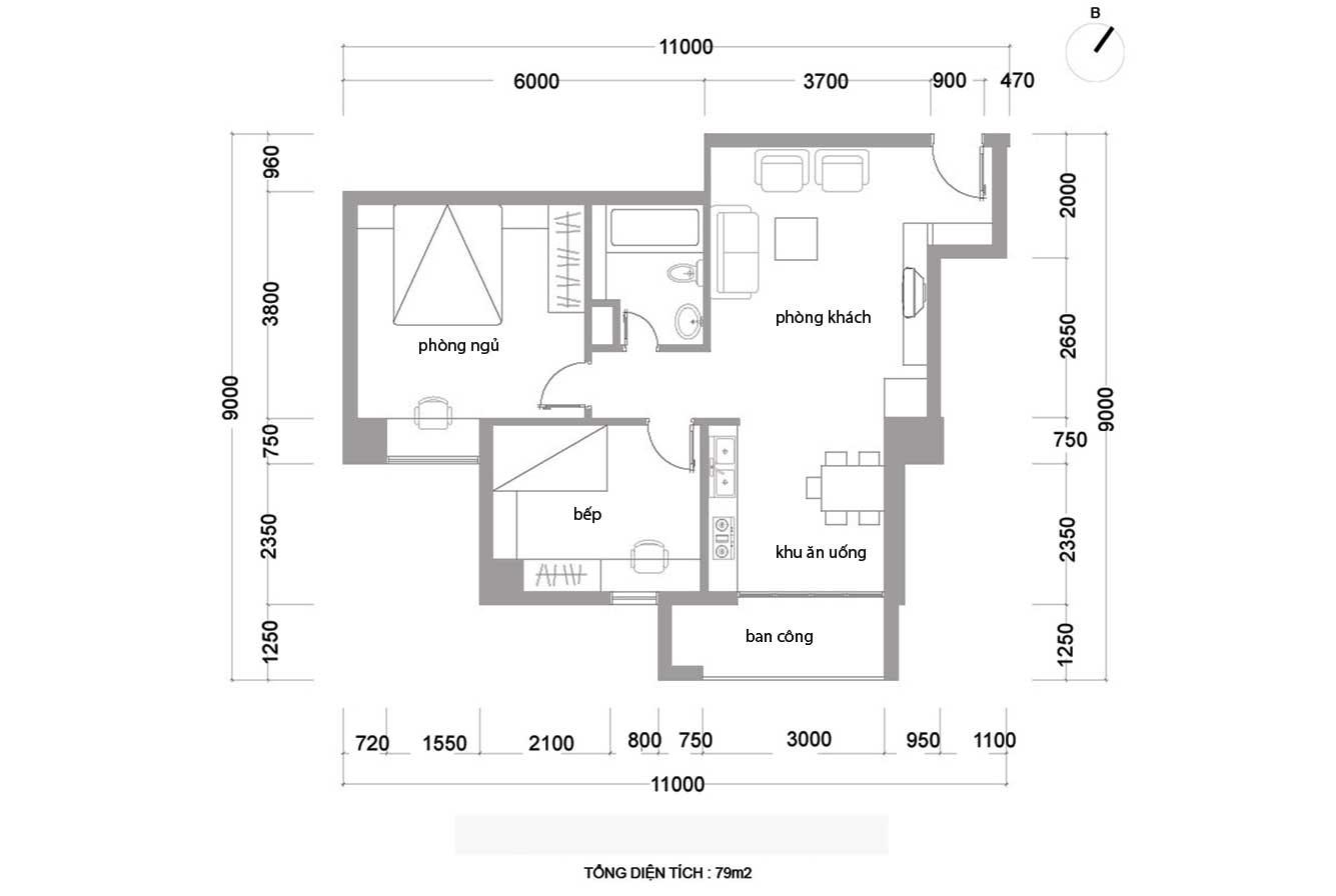 Hiện trạng căn hộ của Kiều Thanh