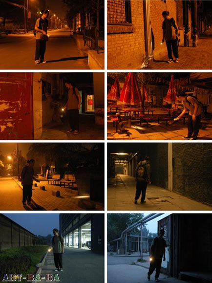 2010, Bắc Kinh, tìm tiền tại khu nghệ thuật 798 từ lúc 20:20 tới 05:00 ngày 16. 7, tiến trình sẽ kết thúc khi tìm được một đồng tiền rơi.