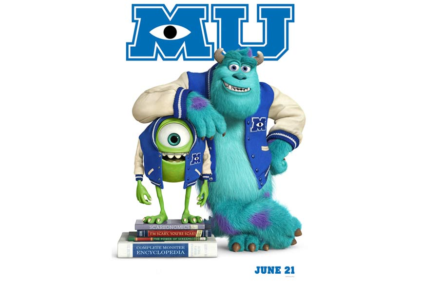 Poster phim Monster University