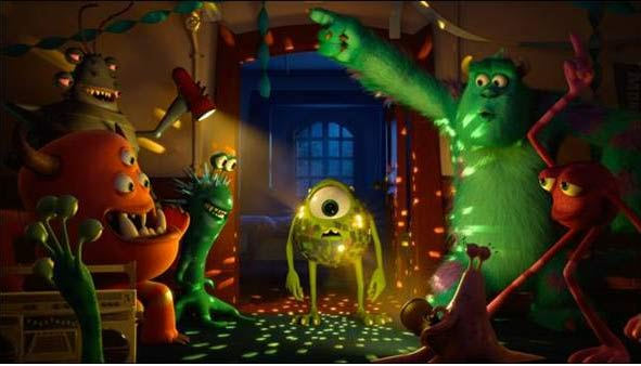 Viên viên quái vật cũng tổ chức tiệc tùng, nhảy Disco