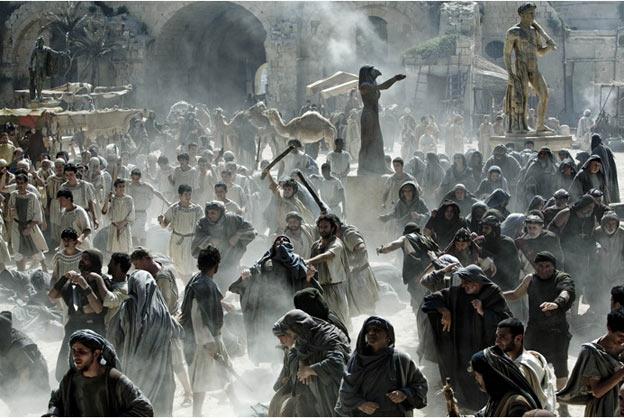 """Một cảnh của """"Agora"""" (http://soi.today/?p=53926), đây là phim hiếm hoi về Hy Lạp cổ mà không dính nhiều tới chiến tranh, tuy nhiên cũng phải chen vô tý bạo động."""