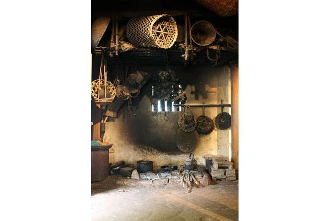 Khu bếp trong nhà người Việt.