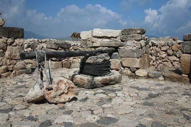 Dụng cụ vắt dầu thời cổ
