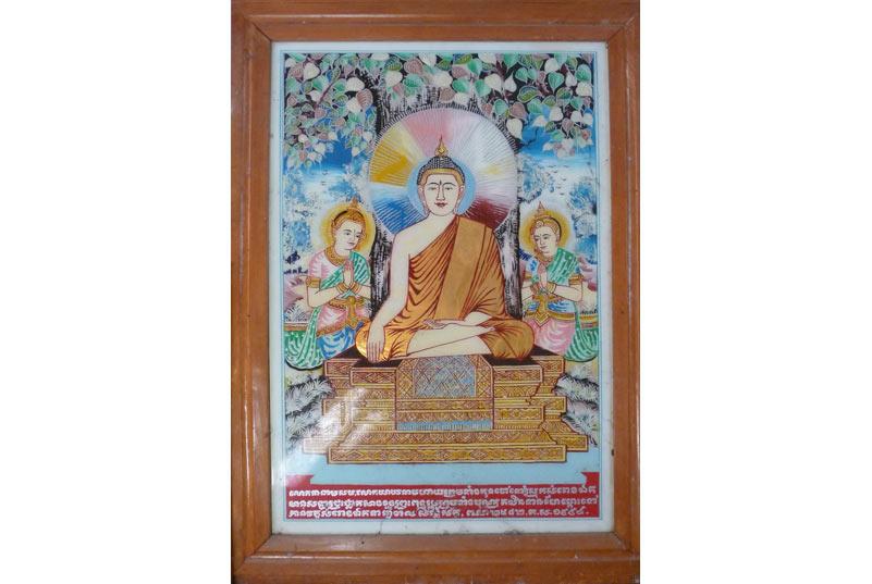 Phật đắc đạo, Khmer.