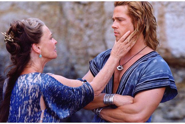 """Brad Pitt đóng vai Achilles trong phim """"Troy"""""""
