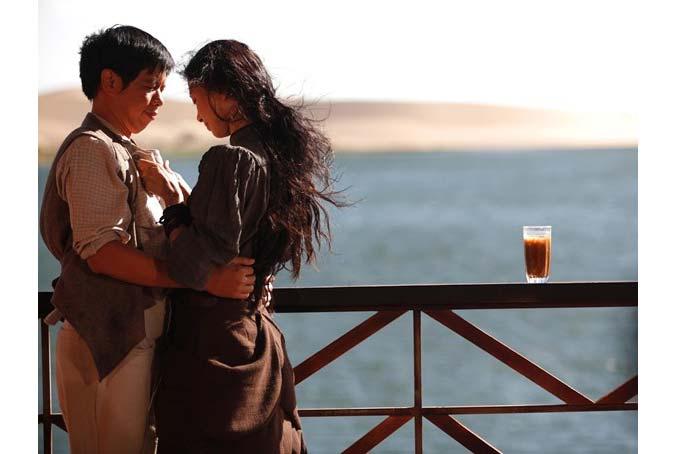 Ngô Thanh Vân và Thái Hòa trong phim