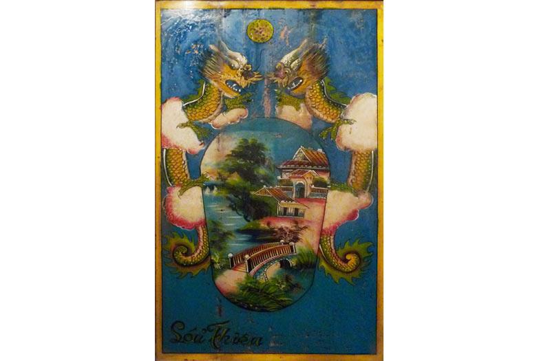 Tranh thờ tổ tiên, Bà Vệ (An Giang)