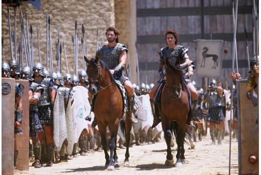 Một cảnh của phim Troy