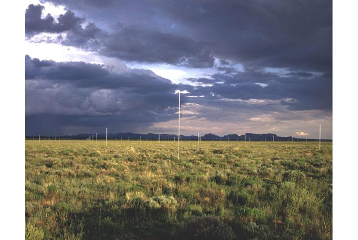 """""""The Lightning Field"""" khi không có sấm chớp"""