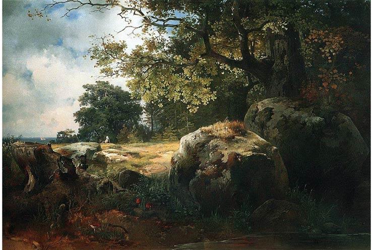 Vì sao bức 'Phong cảnh gần Oranienbaum' lại là danh tác?