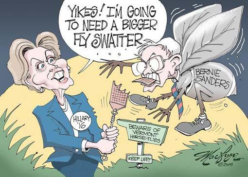 Bầu cử Mỹ, bài 1: Donald Trump chỉ có cái miệng và Sanders vụt lớn