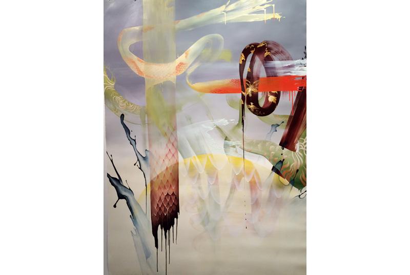 Triển lãm của Liên Trương – Tên dài loằng ngoằng nhưng tranh thì hay