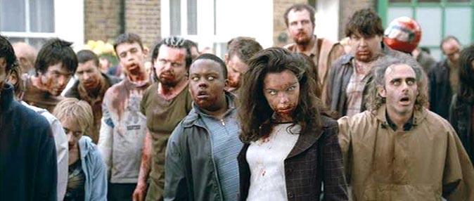 Phim DVD: Đau bụng chết cười với 'Shaun of the Dead'